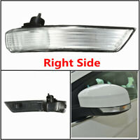 Right Wing Mirror Indicator Turn Signal Light Lens Cover For Ford Focus 08-16