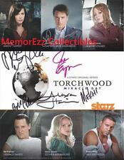 TORCHWOOD: MIRACLE DAY John Barrowman / Eve Myles +4 SIGNED Autographed Photo