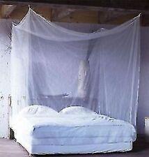 "Bite Free Brand  8X6(96""X72"") FEET KING SIZE DOUBLE BED NYLON MOSQUITO NET"