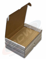 Lot of 10 BCW Comic Book Shipper - White Cardboard Shipping Boxes