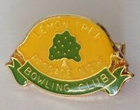 Lemon Tree Passage NSW Bowling Club Badge Pin Vintage Lawn Bowls (L24)