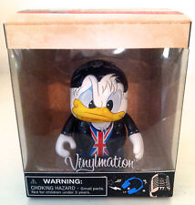 "DISNEY VINYLMATION 3"" TUNES BRITISH ROCK DONALD DUCK COLLECTIBLE TOY FIGURE NEW"