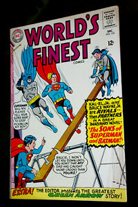 World's Finest #154 untouched VF at least..will be PRESSED