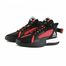 adidas Posterize EG8879 Mens Basketball Shoes Core Black/Red/Silver Multi Sizes