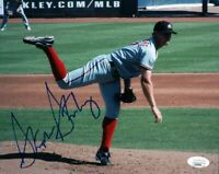 Stephen Strasburg Signed Autographed 8X10 Photo Road Pitch Nationals JSA II24345