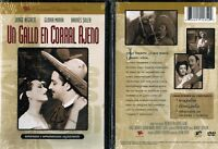 Un Gallo En Corral Ajeno Spanish DVD New Jorge Negrete Gloria Marin