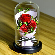 1pc Eternal Rose Bouquet Creative Rose Decor Ornament Preserved Flower for Wife