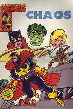 Les Défenseurs N°2 - Chaos - Arédit-Marvel Comics - 1981 - BE