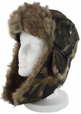 Bomber Russian Men Aviator Fur Trapper Ski Hat Fur Ear Flap Winter Warm Cap New