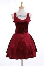 K-14 Taille S-M robe court short rouge harajuku japon gothique fashion