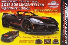 Corvette 2016 ZO6 Lingenfelter Signature Edition 800 HP Z06 Poster Promo Print