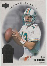 DAN MARINO 1996 Silver Collection RECORD SEASON UPPER DECK SET
