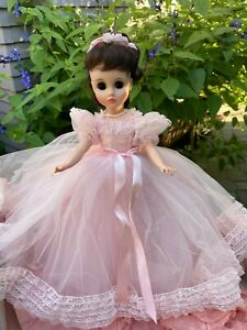 VINTAGE 1966 MADAME ALEXANDER ELISE?? PINK BRIDESMAID? DOLL #1780 PORTRAIT W/BOX