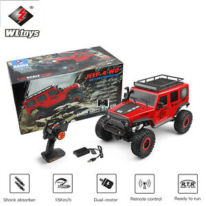 WLtoys 104311 1/10 2.4G SUV RC Car 4WD Brushed Off-Road Rock Crawler RTR Cars