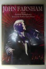 JOHN FARNHAM LIVE SYDNEY OPERA HOUSE SYMPHONY DVD GOOD CONDITION