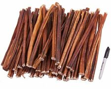 """GoGo USA Natural 12"""" Bully Stick - Large - 50 Pack"""