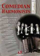 Akkordeon Noten : COMEDIAN HARMONISTS - lei Mittel - mittelschwer (Exclusiv)