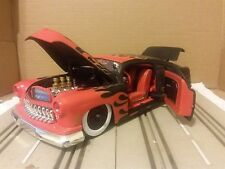 JADA Collectors Club 1:18 Scale Black w/Red Flames 1951 Mercury