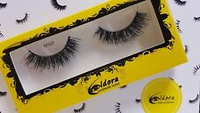 Eldora False Eyelashes M107 Multi-layered Human Hair Strip Lashes