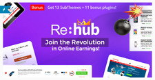 Rehub V1681 Affiliate Marketing Multi Vendor Store Community Theme