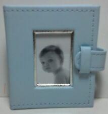 Hallmark Signature Album Brag books Simulated Leather Blue for boys 24 photos