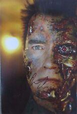 Arnold Schwarzenegger Terminator Signed Photo 8x12
