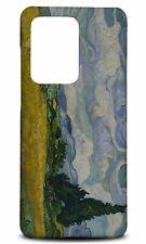 SAMSUNG GALAXY S SERIES PHONE CASE BACK COVER|WHEATFIELD WITH CROW ART VAN GOGH