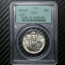 1926 Oregon Trail Commemorative Half Dollar PCGS MS64 (95235)