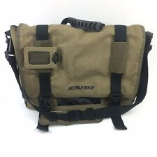 "Mobile Edge Eco-Friendly Canvas Laptop Messenger Bag up to 17.3"" Mobileedge"