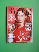 Harper's Bazaar US November 2010 Christina Hendricks Georgia May Jagger Magazine