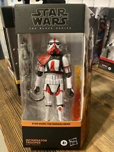 Hasbro STAR WARS Black Series INCINERATOR TROOPER In Hand The MANDALORIAN