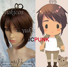 New cosplay Short Axis Powers Hetalia APH Greece Heracles Karpusi wig + hairnet