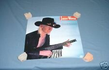 JOHNNY WINTER Poster Serious Business 1985 NICE PROMO