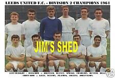 LEEDS UNITED TEAM PRINT 1964 (DIVISION 2 CHAMPIONS)
