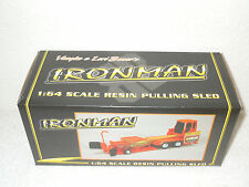 Bauer Built Ironman Orange Pulling Sled   1/64th Scale