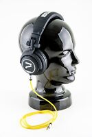 7even Kopfhörer schwarz-gelb/ The Headphone black/ yellow Dj Sport Hifi Handy