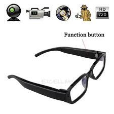Mini HD 720P Glasses Hidden Eyewear Camera Security Cam DVR Video recording