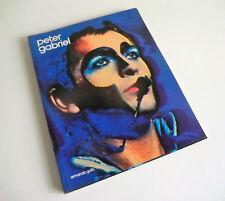 RARE 1986 BOOK - PETER GABRIEL BY ARMANDO GALLO - GENESIS AND SOLO PHOTOGRAPHS!