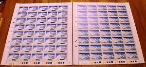 Greenland Full Sheet Marginal G286-287 2001 Christmas Stamps - Series - MNH