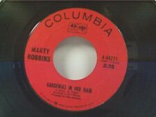 "MARTY ROBBINS ""GARDENIAS IN HER HAIR / IN THE VALLEY OF THE RIO GRANDE"" 45"