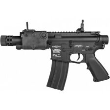 Lancer Tactical M4 LT-708 Stubby AEG Airsoft Rifle BLACK LT-708