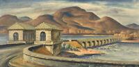 Ashokan Reservoir : Charles Rosen : 1934 : Archival Quality Art Print