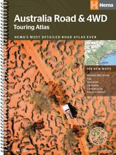 HEMA MAPS -  AUSTRALIA ROAD TOURING ATLAS - 4WD - 'NEW' 12TH EDITION