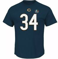 NFL T-Shirt Chicago Bears Walter Payton Hall Fame Jersey Football Big & Tall 4XL