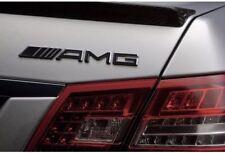 19cm AMG Schwarz Schriftzug Emblem Typenschild Mercedes Benz CLK SLK SL CLS ML S