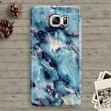 Marble Blue Granite Cool Space for Samsung Galaxy Note 3,4,5 Hard Case