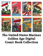 United States Marines – 8 Issues – Golden Age Digital Comic Books on CD