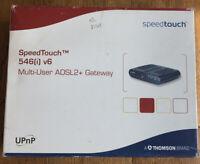 Thomson Speedtouch 546 V6 ADSL2+ Multi-User Gateway, Speedtouch 546(i) V6 Router