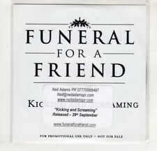 (HM515) Funeral For A Friend, Kicking And Screaming - DJ CD