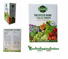 Rameplant fungicida ossicloruro di rame per agricoltura biologica verderame 1kg